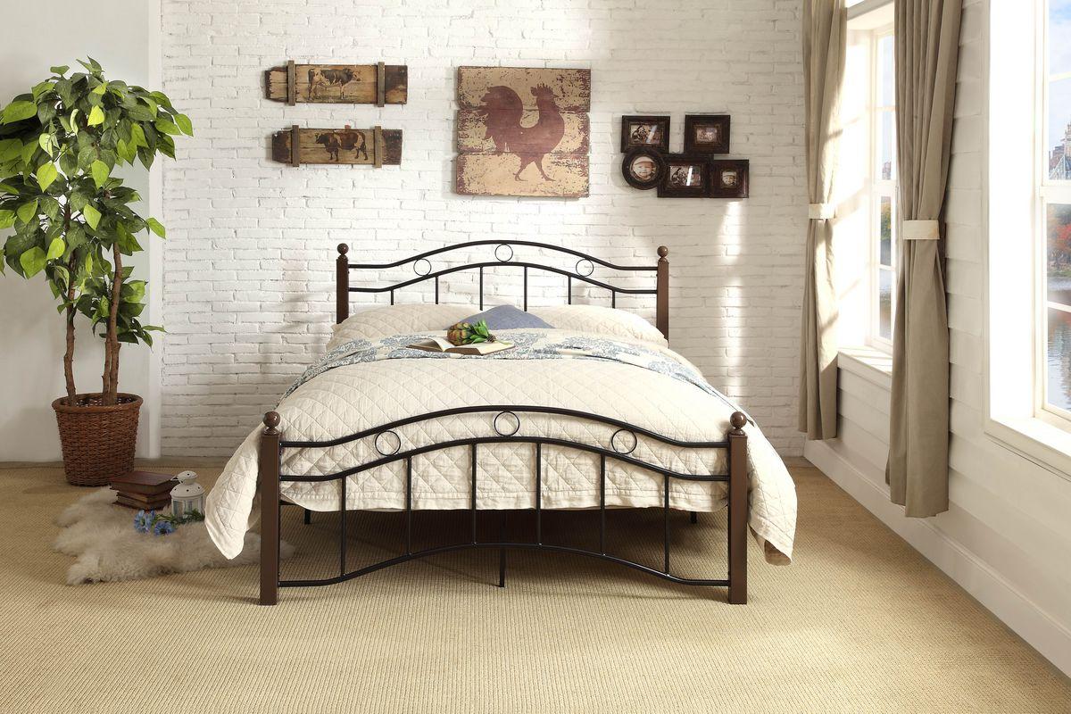 full black metal bed frame - Black Metal Bed Frame
