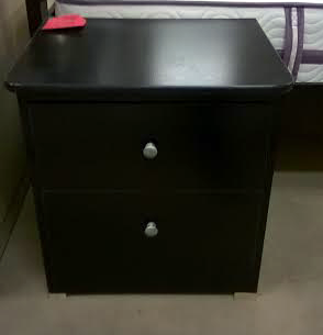 5 Piece Black Collection Night Stand-302
