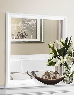 Mirror - Mayville Collection - White