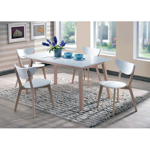 HM456T - White Top Table and Chairs - 1206